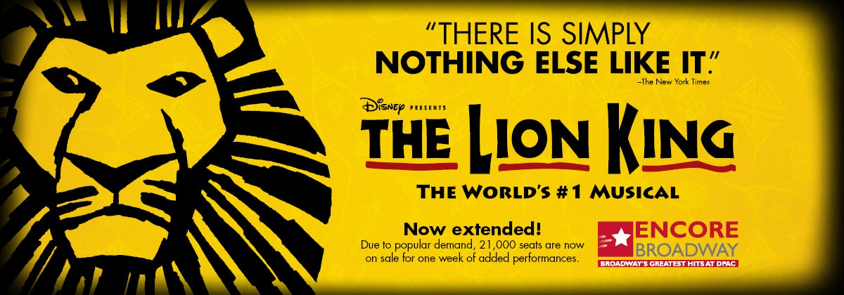 disney u0026 39 s the lion king at dpac