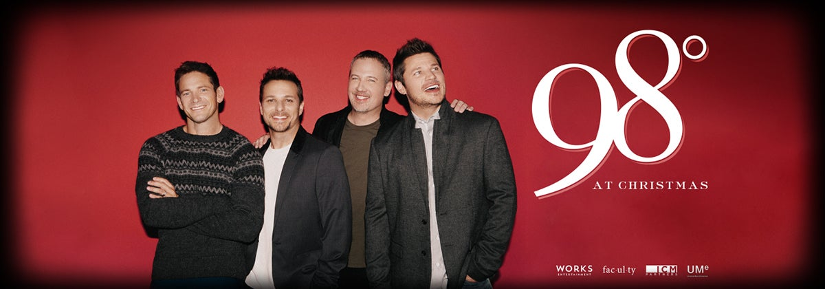 98 Degrees Announces First Ever Christmas Tour | DPAC Official Site