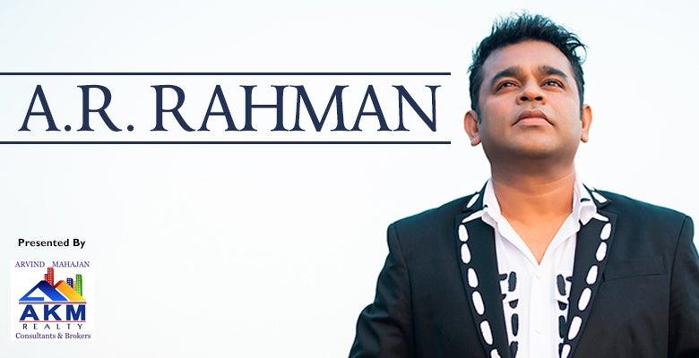 More Info for A.R. RAHMAN