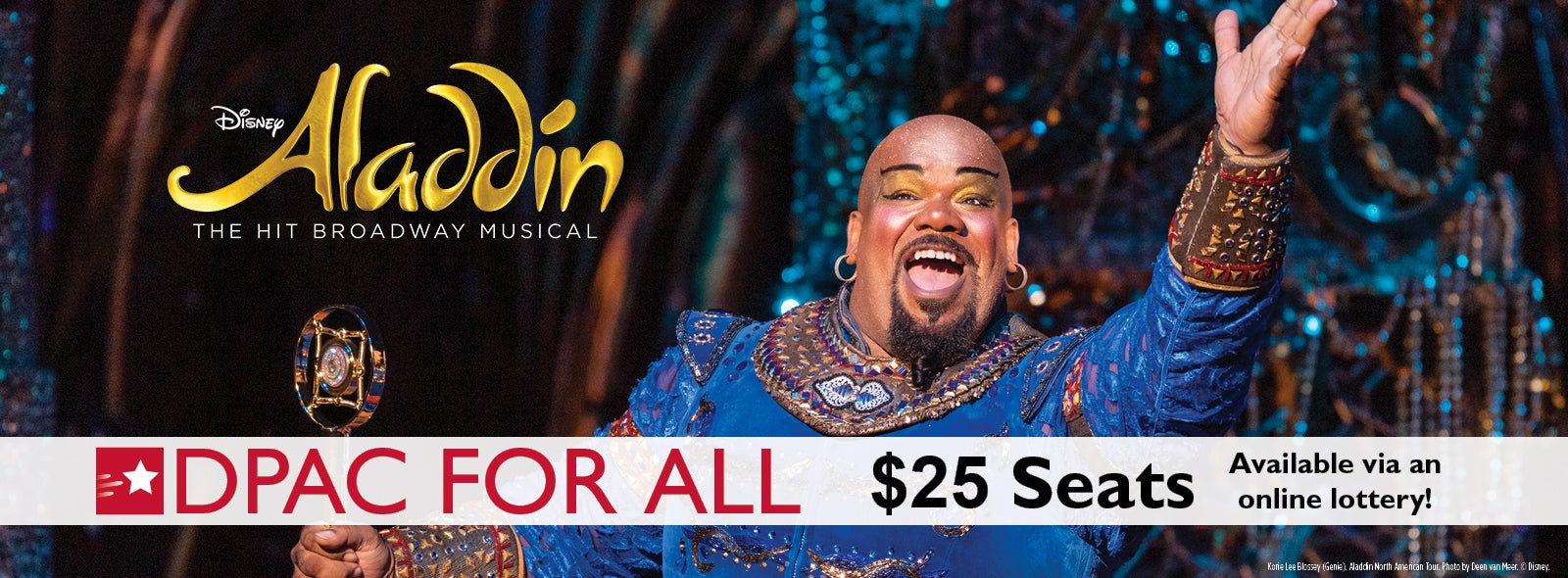 $25 Lottery Tickets Available for Disney's Aladdin