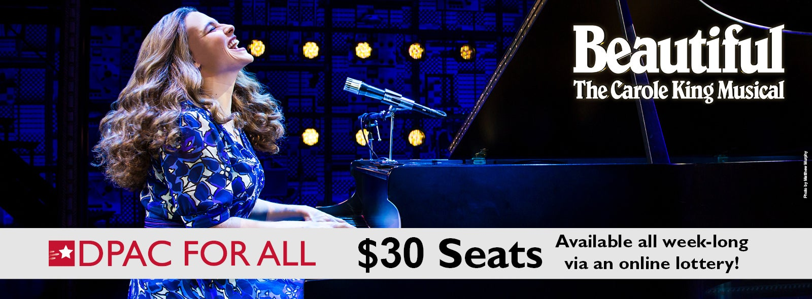 Rush Tickets for Beautiful - The Carole King Musical