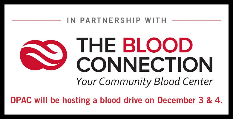 More Info for DPAC Announces Date for Spring Blood Drive