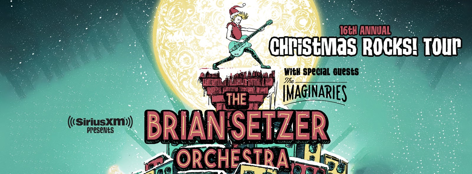 Sirius Xm Christmas.Siriusxm Presents The Brian Setzer Orchestra S 16th Annual