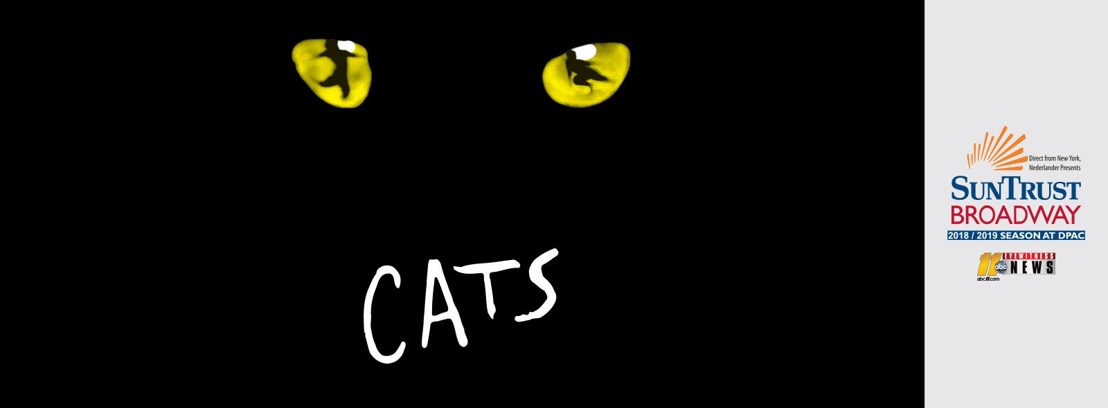 Cats On At Dpac December 6