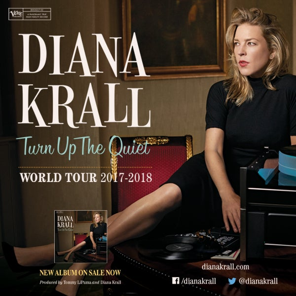 Diana Krall Tour Dates 2020 Diana Krall: Turn Up The Quiet World Tour | DPAC Official Site