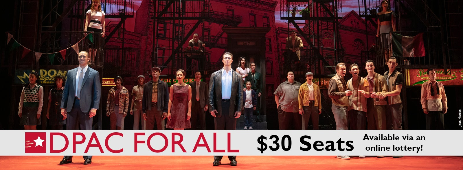 $30 Online Lottery Tickets to A Bronx Tale