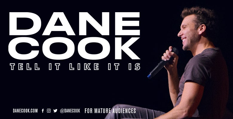 More Info for Dane Cook at DPAC on April 26, 2019