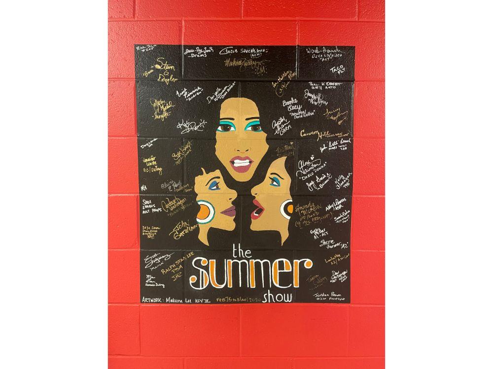 Donna Summer Musical Mural
