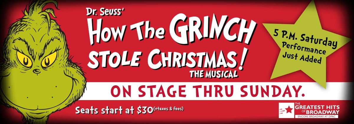 Dr. Seuss' How The Grinch Stole Christmas The Musical!