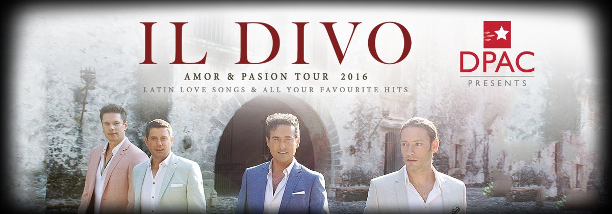 Il o bring amor amp pasion tour to dpac on september 25 2016