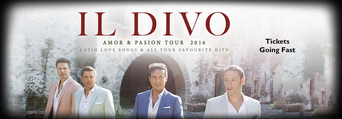 Il divo amor and pasion tour dpac official site - Il divo website ...