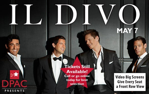 Il divo dpac official site - Il divo website ...