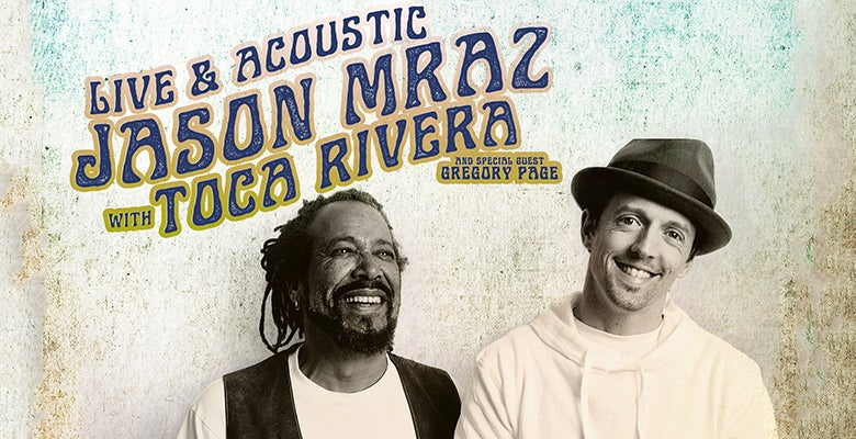 More Info for Jason Mraz: Live & Acoustic With Toca Rivera