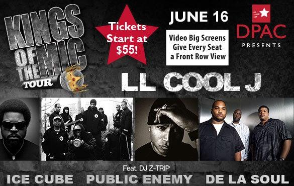 Kings of the Mic: LL COOL J feat. DJ Z-Trip, Ice Cube, Public Enemy, De La Soul