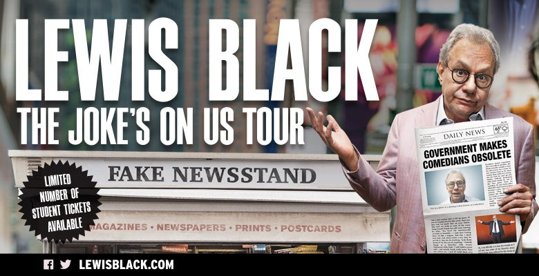 More Info for Lewis Black is Coming to DPAC on November 15, 2019