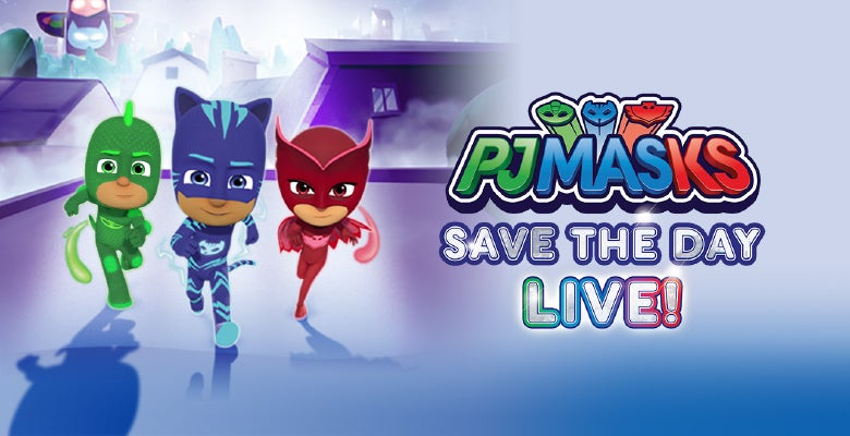 More Info for PJ Masks Live! Returns to DPAC on November 19, 2019