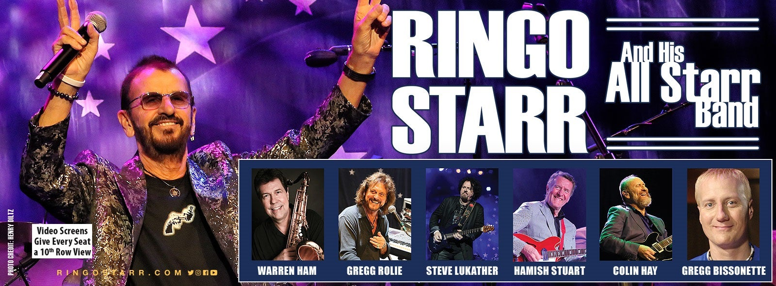Ringo Starr Tour Dates 2020 Ringo Starr and His All Starr Band | DPAC Official Site