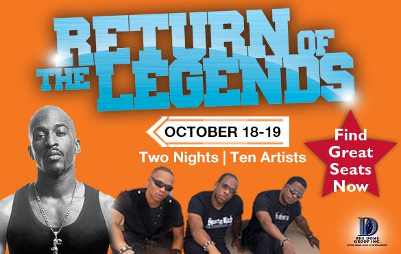 Return of the Legends - Concert & After-Party