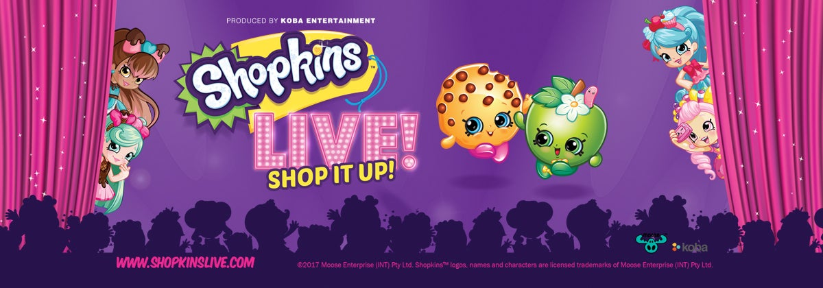 Shopkins Live! - New Date & Time