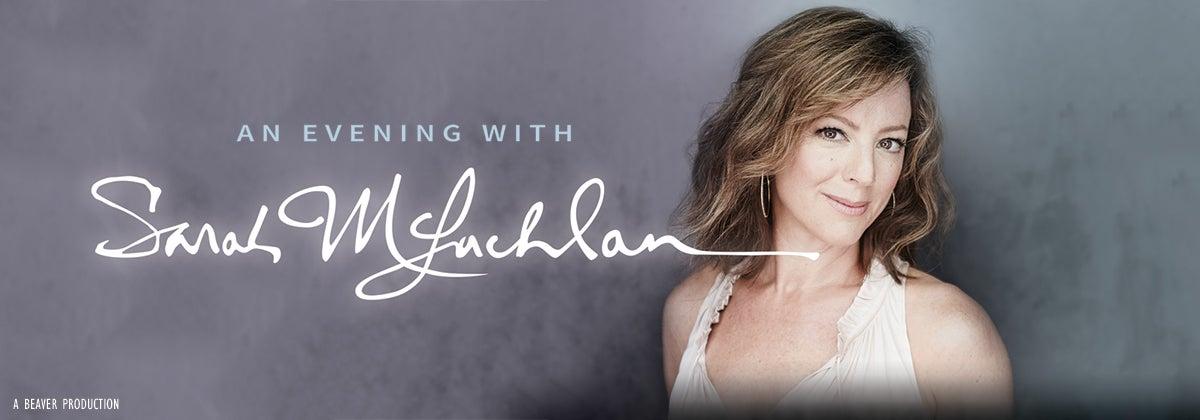 An Evening with Sarah McLachlan