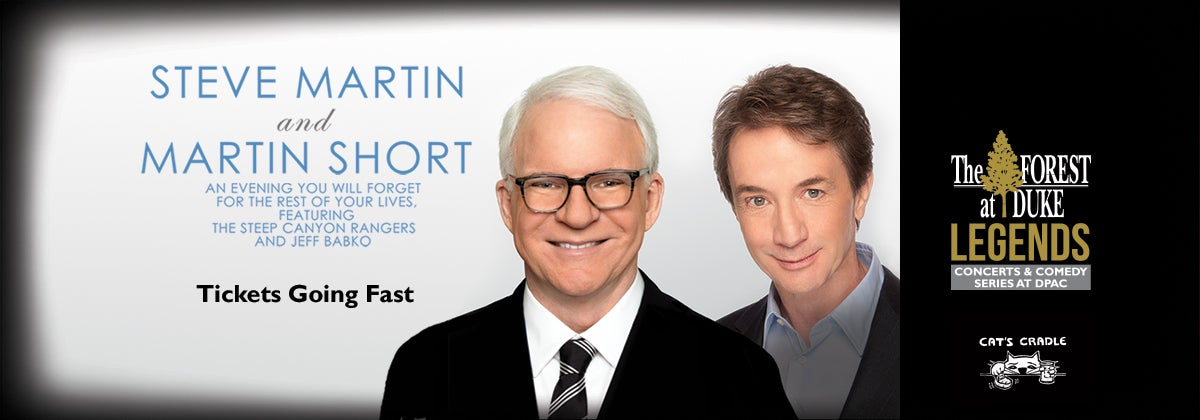 Steve Martin & Martin Short with Steep Canyon Rangers