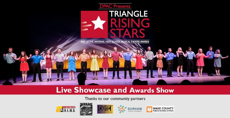 More Info for DPAC Presents Triangle Rising Stars 10th Annual Showcase and Awards