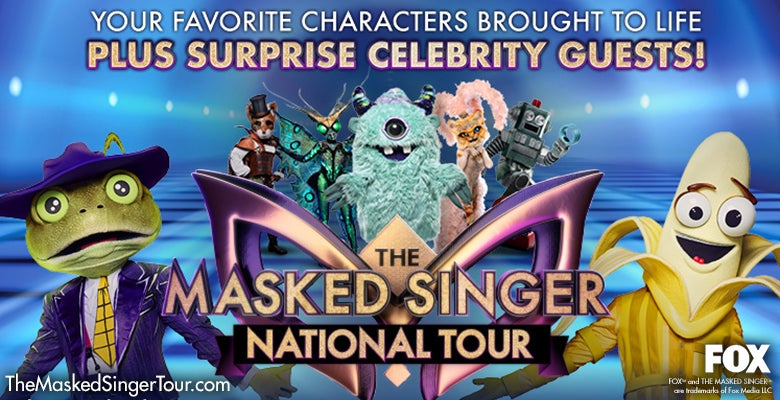 More Info for The Masked Singer Comes to DPAC on June 25, 2021