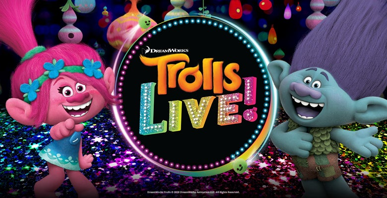 More Info for Trolls LIVE! Comes to DPAC May 30 & 31, 2020