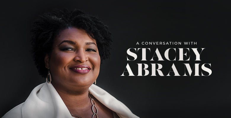 More Info for A Conversation with Stacey Abrams